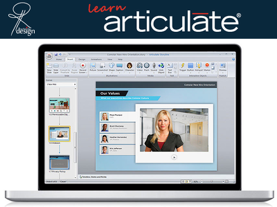 Teach you how to use Articulate Storyline