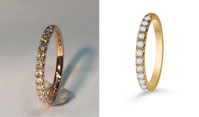 Do 10 jewelry retouching with professional quality