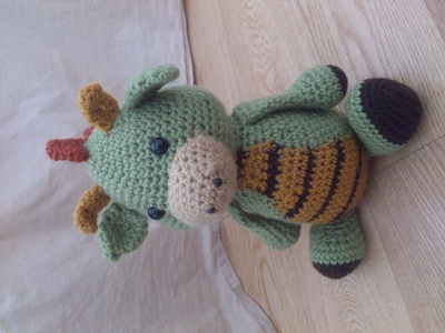 Crochet a stuffed toy