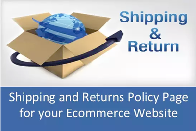 Draft a Shipping and Returns Policy Page for your Site