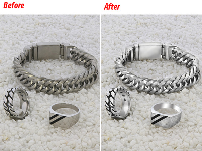 Jewelry retouch of 5 Image