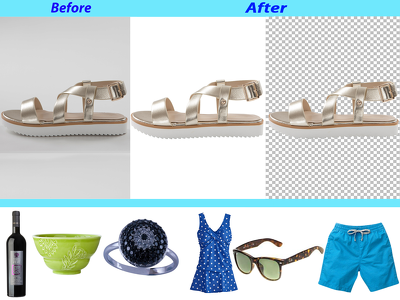 "Background Remove|Cut out-up to-50 Images for ""E-Commerce/Others"