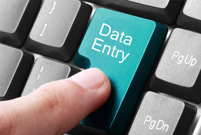 Provide 1 hour of data entry, admin support, typing,Web research