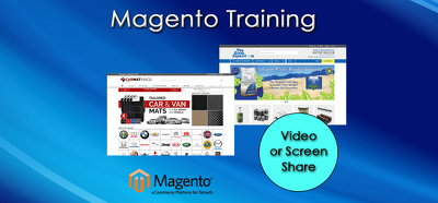 Teach you how to use and edit parts of magento for 1 hour
