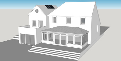 Create a basic 3D model in Sketchup