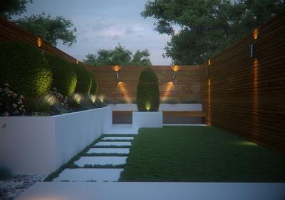 Do  3d Exterior House render from 2d Concept Idea