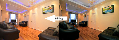 Enhance 2 real estate image / Dust Remove / Color tone matching / Color correction an