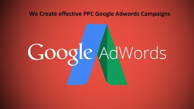 Setup and effectively optimize your PPC Google Adwords Campaign