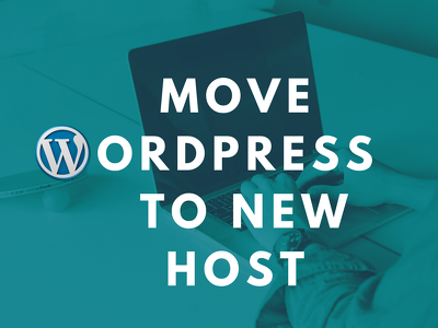 Move your wordpress site from one server to another