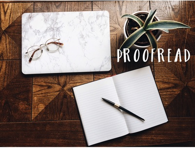 Proofread up to 1000 words for grammar, spelling, clarity and syntax.