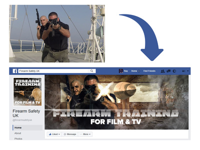 Create facebook / twitter covers and profile picture
