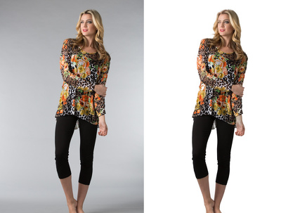 Cut out/background remove 200 images with crop & resize for Ecommerce