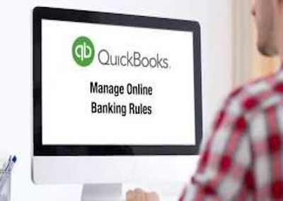 Add 50 bank rules to your QuickBooks Online Business transactions