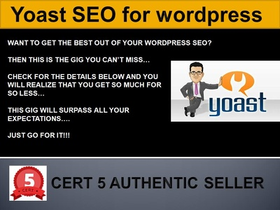 Do Yoast SEO for wordpress