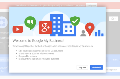 Make a google my business page