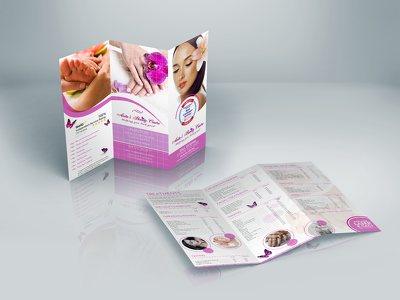 Design a professional trifold / 3-fold brochure