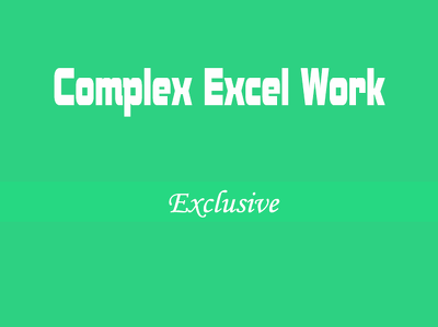 Fix, merge,add, remove,change, combine your large excel sheet