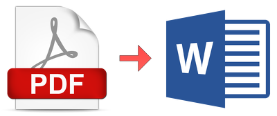 Convert PDF or image-files to Word or Excel or Google Docs in less than a day
