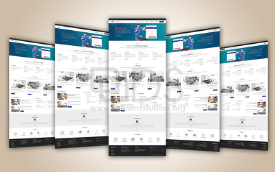*Premium* Top Quality Mockup / Landing page / Home Page Design + Responsive HTML