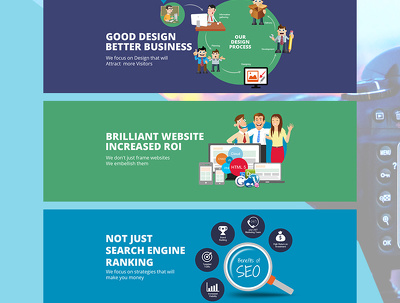 Design your web & infographic banner/advert