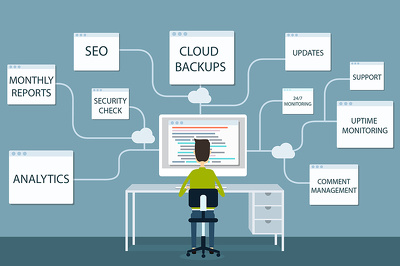 manage your Wordpress website. Backup, SEO, Uptime Monitor, Updates and more.
