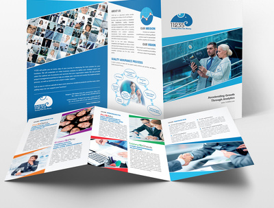 Design a professional Trifold Brochure