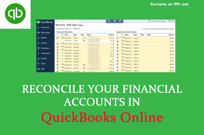 Reconcile your Banking/Credit card statements in QuickBooks Online