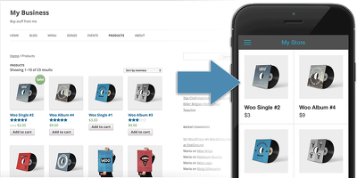 Build a mobile app for your wordpress site