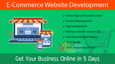Deliver E-commerce website using Wordress