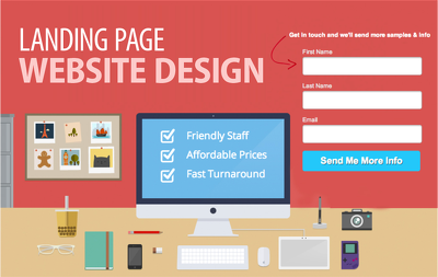 Build Responsive Landing Page