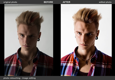 Retouch your headshot photo