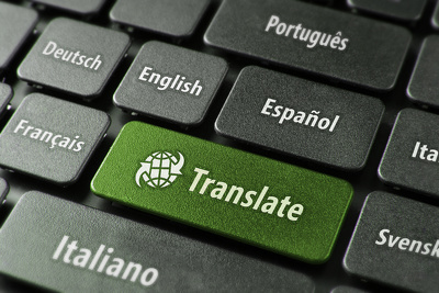 Translate English to and from French/Spanish/German/Italian/Mandarin, 500 words