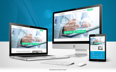 Design creative PSD mockups for your Business website