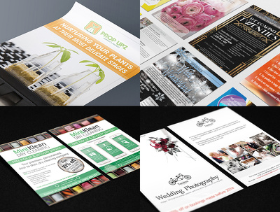 Design a single or double-sided flyer/postcard/leaflet/brochure/invitation