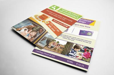 Design a creative flyer / poster / leaflet / postcard design