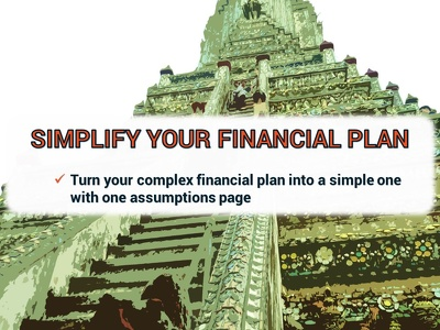 Audit and simplify your financial model