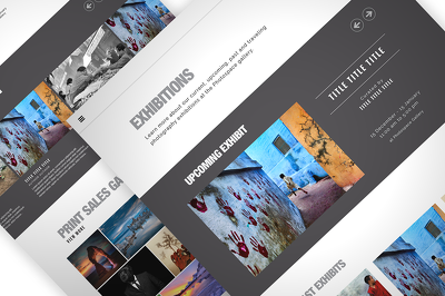 Design a Professional Website Mockup