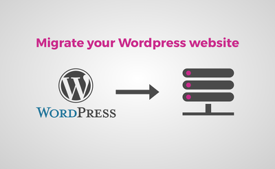 Migrate your Wordpress website to a new server or hosting provider.