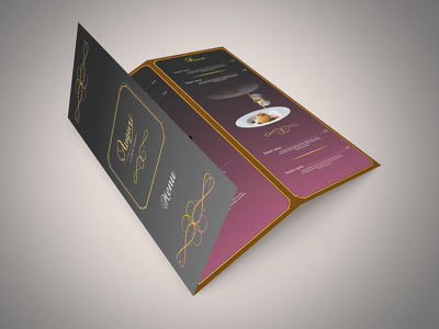 Attractive brochure design for your customers
