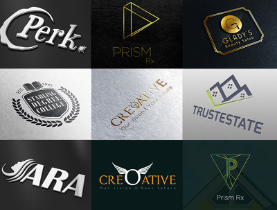 Design your Three custom logo concepts & a custom brand board.