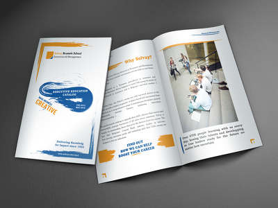 Design a Bi-Fold or Tri-Fold Brochure with Unlimited Revisions