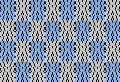 Design an attractive geometrical surface pattern