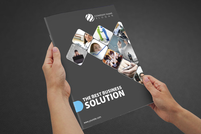 Design a bi fold or tri fold brochure
