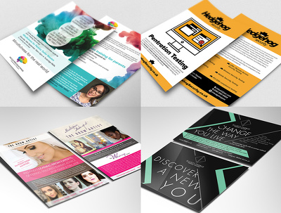 Design a double-sided flyer/postcard/leaflet/brochure/invitation