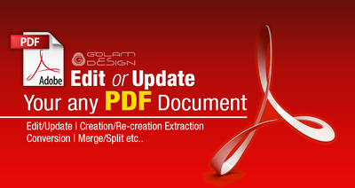 Edit or update your any PDF document