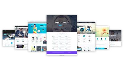 Premium SEO friendly WordPress Websites based on themes