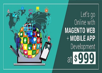 Magento Website + App for eCommerce Business