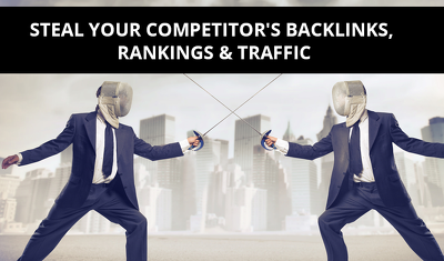 Report for Competitors' Backlinks, Top Pages, Organic Keywords (up to 3 websites)
