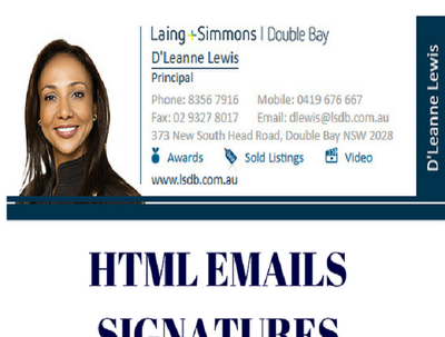 Professionally Design Html Email Signatures to engage your audiences