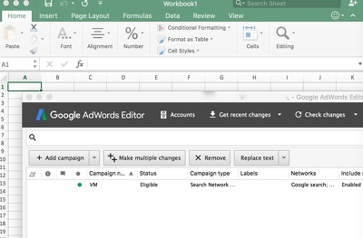 Setup and optimize your Google AdWords campaigns.